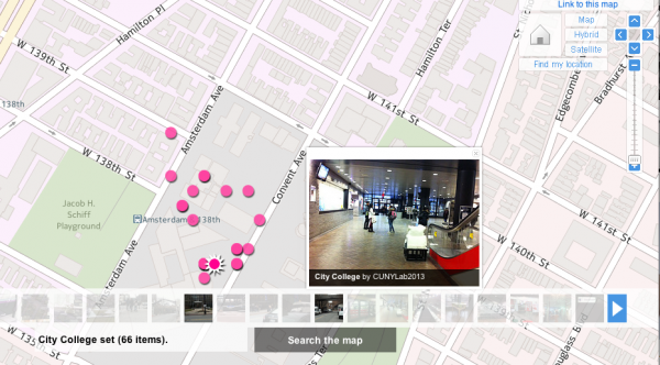 Flickr Maps function