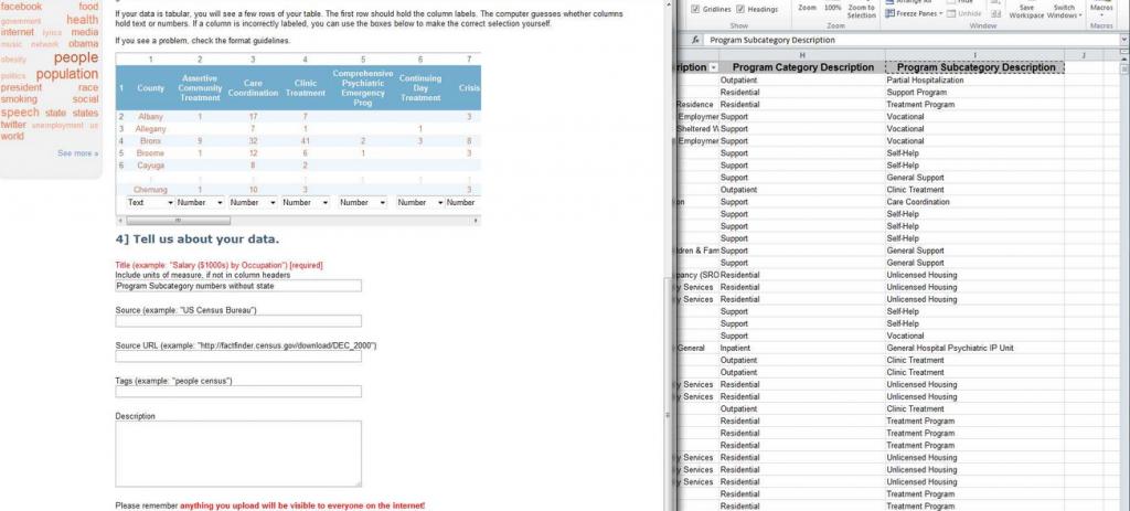 finalizing pivot data