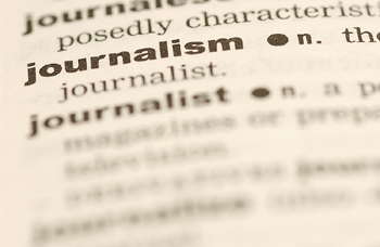 Journalism Dictionary Image