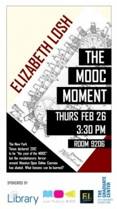 Liz Losh Event Flyer